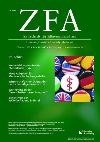 ZFA Issue 10/2009