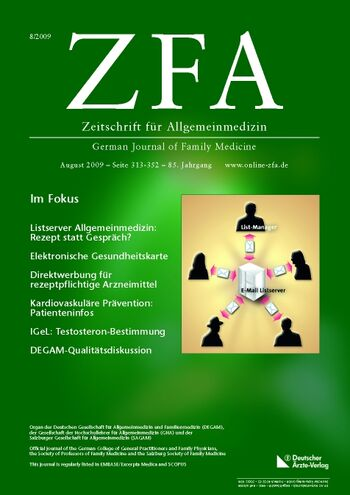 ZFA Issue 8/2009