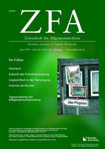 ZFA Issue 6/2009