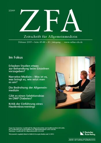 ZFA Issue 2/2009