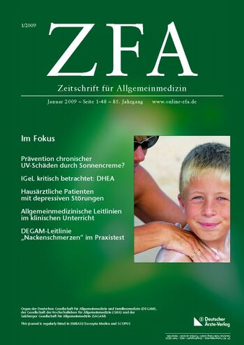 ZFA Issue 1/2009